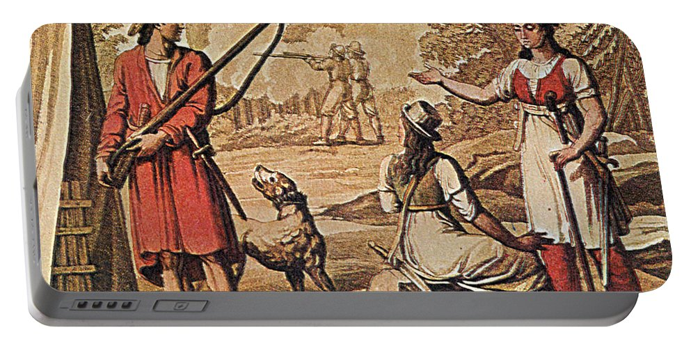 History Portable Battery Charger featuring the photograph Mary Read And Anne Bonny, 18th Century by Photo Researchers