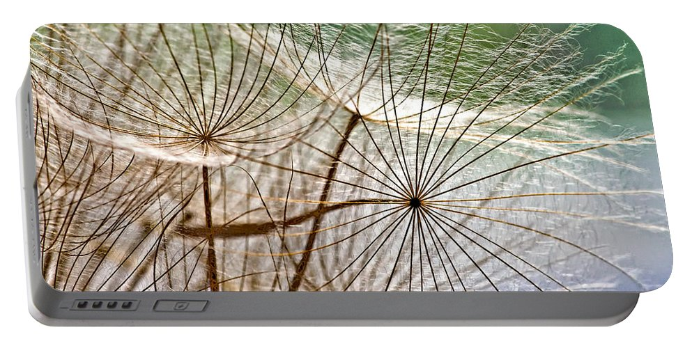 Weed Portable Battery Charger featuring the photograph Matrix 2 by Steve Harrington