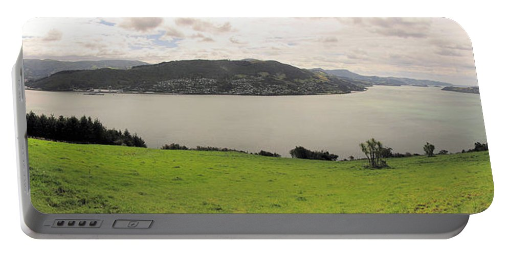 Mcandrew Bay Portable Battery Charger featuring the photograph Mcandrew Bay Nz by C H Apperson