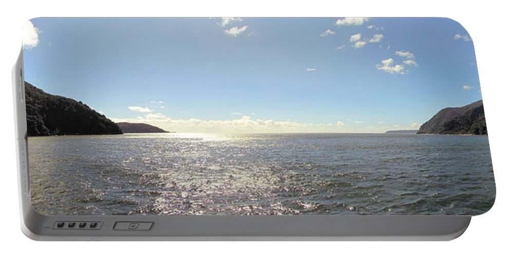 Milford Sound Portable Battery Charger featuring the photograph Milford Sound Nz by C H Apperson