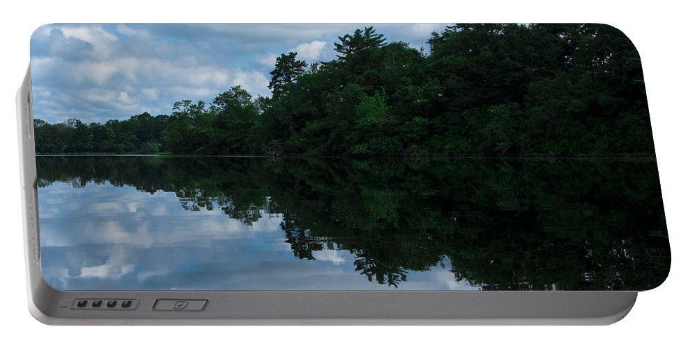 Photography Portable Battery Charger featuring the photograph Mirror Image by Steven Natanson
