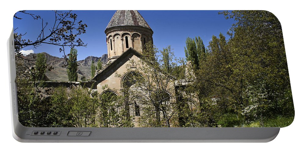 Turkey Portable Battery Charger featuring the photograph Monastery Of Ishan by Michele Burgess