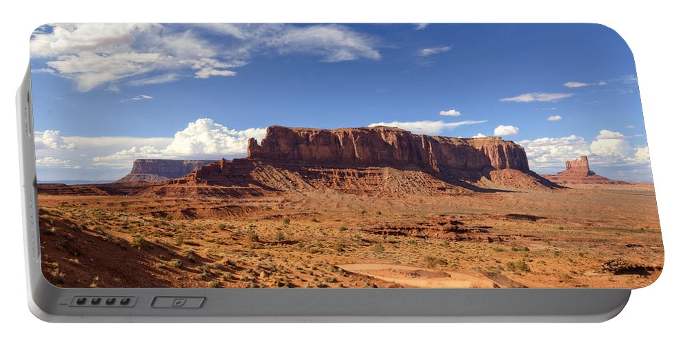 Monument Valley Portable Battery Charger featuring the photograph Monument Valley Arizona by Saija Lehtonen