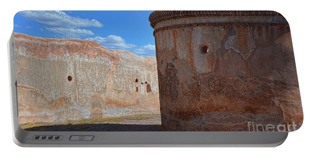 Fine Art Portable Battery Charger featuring the photograph Mortuary Chapel by Donna Greene