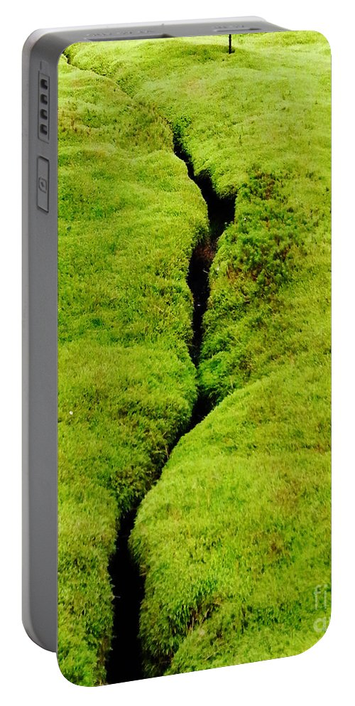 Moss Portable Battery Charger featuring the photograph Moss Forest by Lizi Beard-Ward