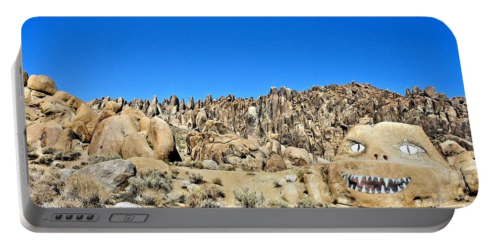 Mount Whitney Portable Battery Charger featuring the photograph Mount Whitney Gardian by Tommy Anderson