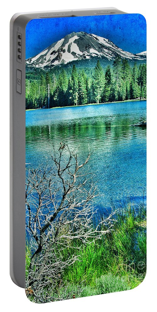 Lassen Mountain Portable Battery Charger featuring the photograph Mt Lassen by Jill Battaglia