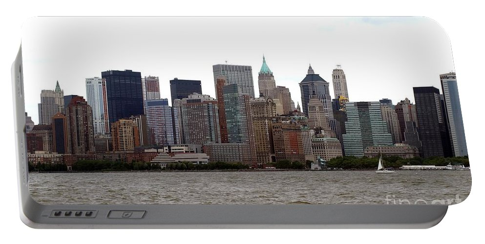 Multiple Buildings Portable Battery Charger featuring the photograph Multi Color Nyc Buildings by Living Color Photography Lorraine Lynch