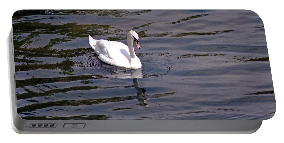 Mute Swan Portable Battery Charger featuring the photograph Mute Swan by Tony Murtagh