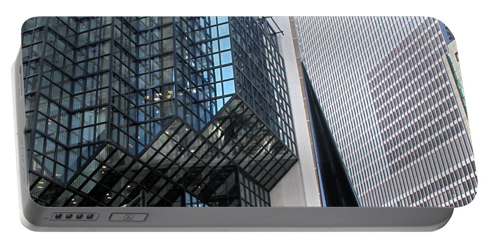 Architecture Portable Battery Charger featuring the photograph Naturally Abstract by Ian MacDonald