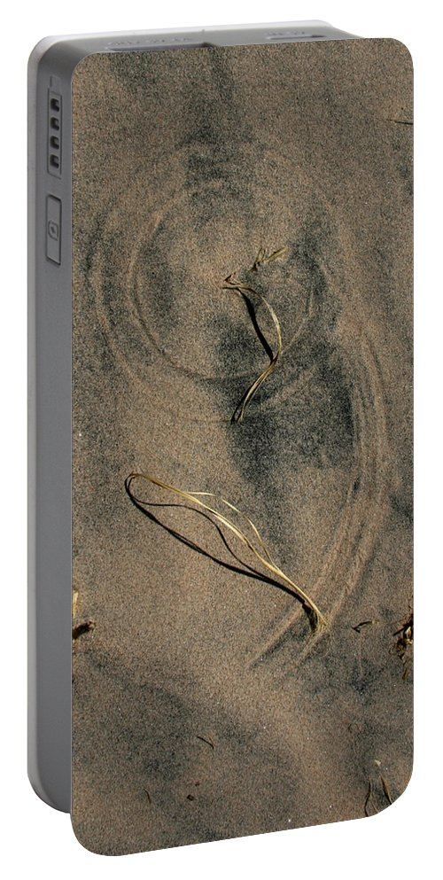 Natures Number Nine Portable Battery Charger featuring the photograph Natures 9 by Chris Brannen
