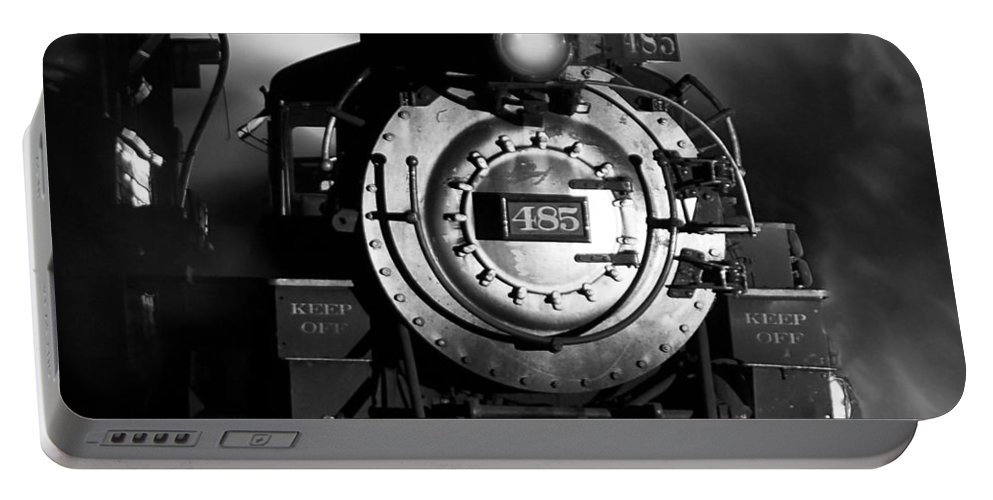 Steam Train Photographs Portable Battery Charger featuring the photograph Need More Coal by Ken Smith