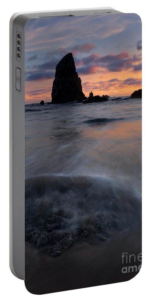 Needles Portable Battery Charger featuring the photograph Needles Sundown by Mike Dawson