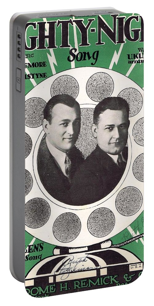 Classic Portable Battery Charger featuring the photograph Nighty-night by Mel Thompson