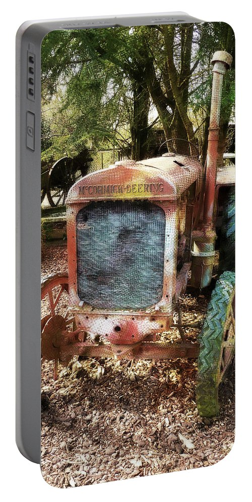 No Need To Rush Portable Battery Charger featuring the photograph No Need To Rush by Steve Taylor
