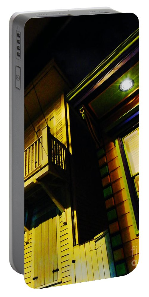 New Orleans Portable Battery Charger featuring the photograph Nocturnal Nola by Lizi Beard-Ward