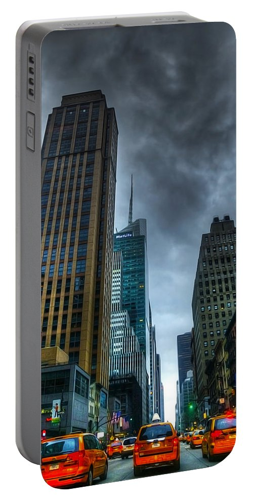 Active Portable Battery Charger featuring the photograph Nyc016 by Svetlana Sewell