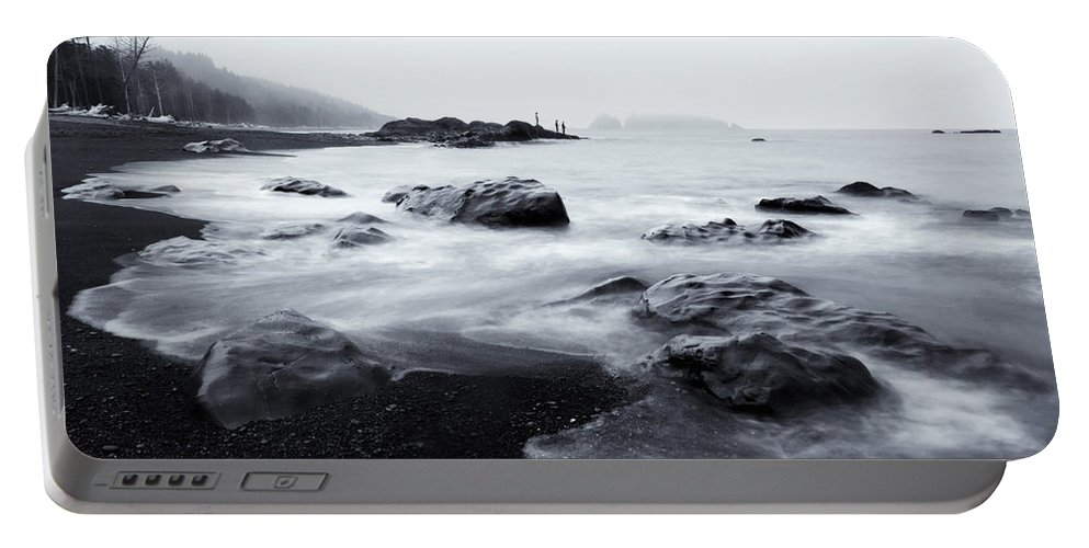Sea Portable Battery Charger featuring the photograph Ocean Alive by Mike Dawson