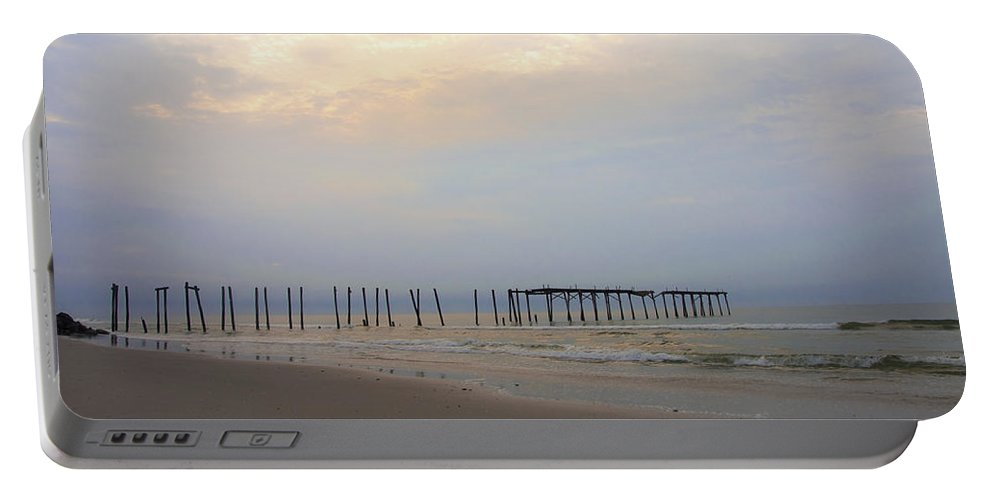 Ocean City 59th Street Pier Portable Battery Charger featuring the photograph Ocean City by Bill Cannon