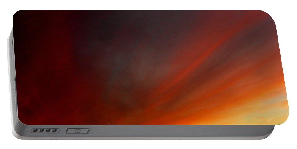 Sunset Portable Battery Charger featuring the photograph October 20 2010 by Mark Gilman