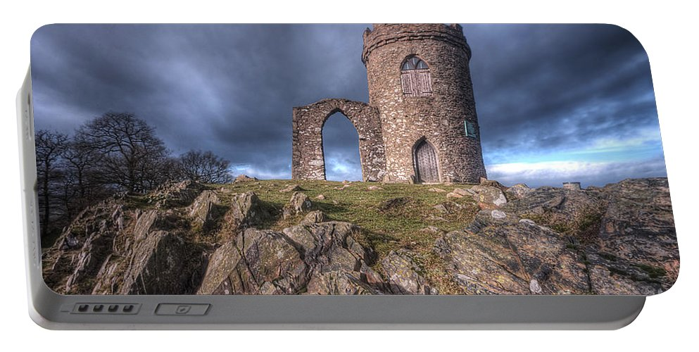 Art Portable Battery Charger featuring the photograph Old John Mug Tower 3.0 by Yhun Suarez