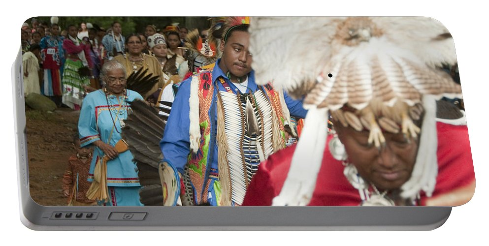 Photography Portable Battery Charger featuring the photograph Opening Procession by Steven Natanson