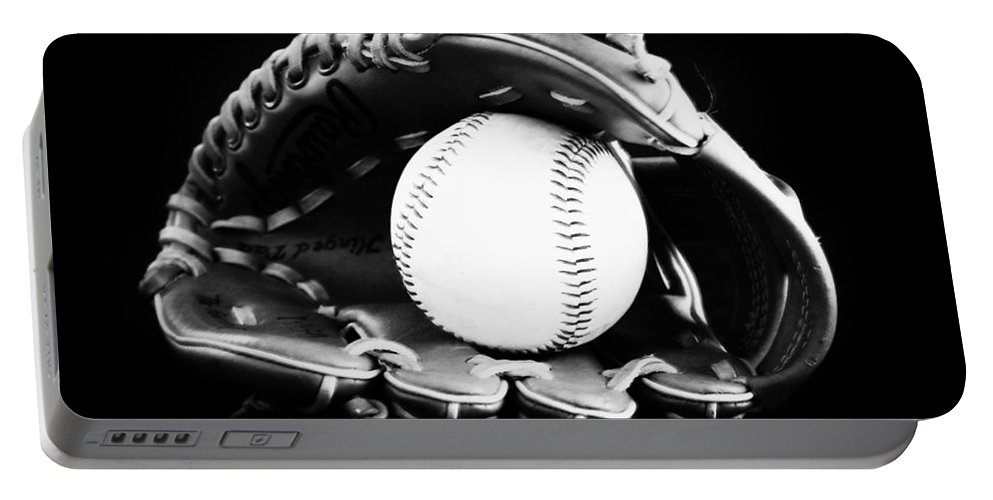 Baseball Portable Battery Charger featuring the photograph Out To The Ball Park by Lj Lambert