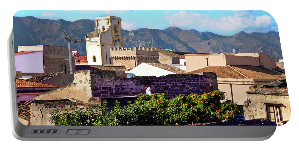 Palermo Portable Battery Charger featuring the photograph Palermo View by Madeline Ellis