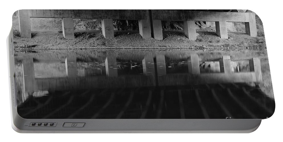 Bridge Portable Battery Charger featuring the photograph Parallel Universe by Luke Moore