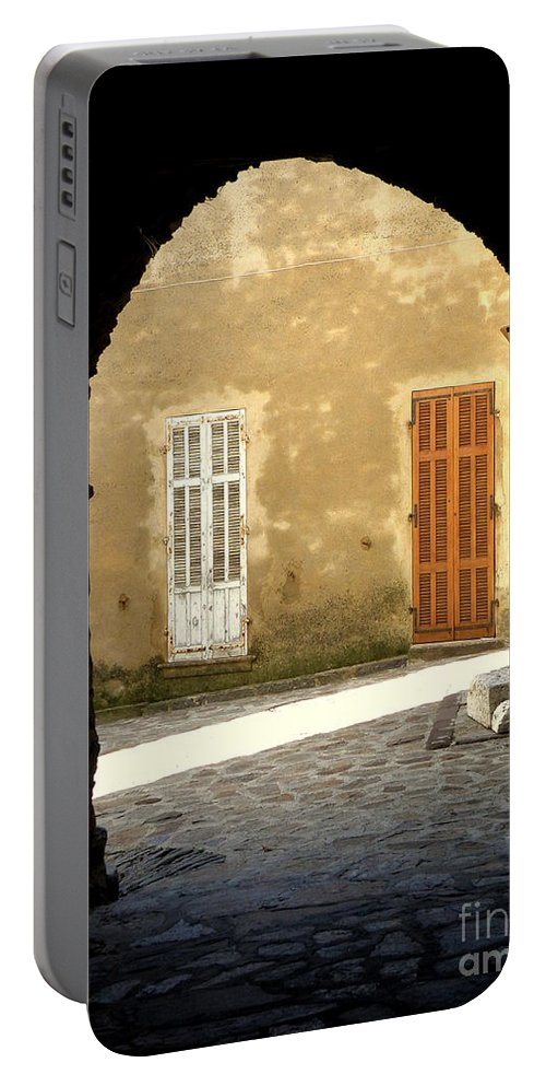 Passage Portable Battery Charger featuring the photograph Passage by Lainie Wrightson