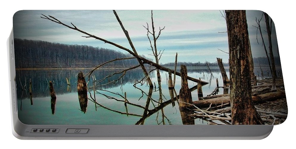 Paul Ward Portable Battery Charger featuring the photograph Path To Enlightment by Paul Ward