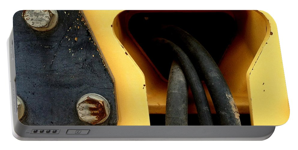 Yellow Portable Battery Charger featuring the photograph Pc49 by Marlene Burns