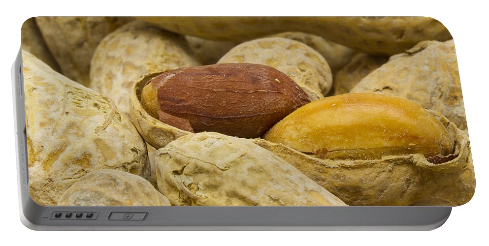 Food Portable Battery Charger featuring the photograph Peanuts 6 by John Brueske