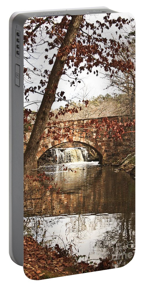 Bridge Portable Battery Charger featuring the photograph Petit Jean State Park by Kim Henderson