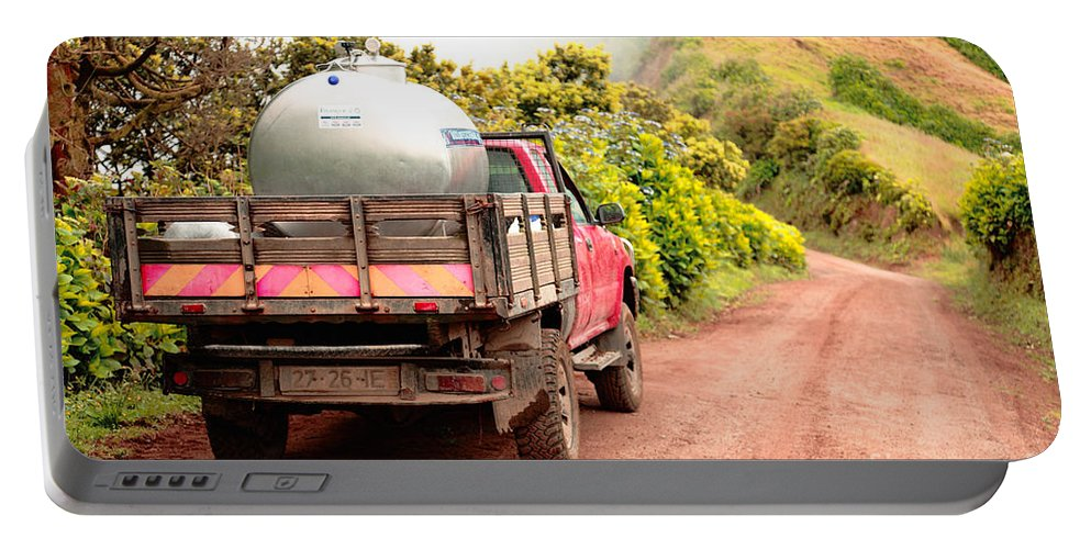 Truck Portable Battery Charger featuring the photograph Pickup Truck by Gaspar Avila