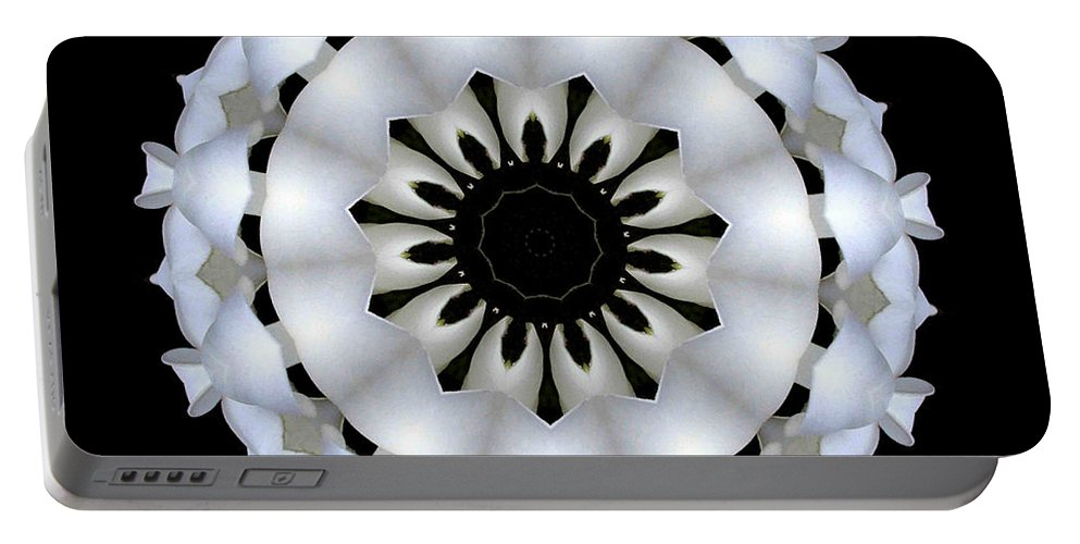 Digital Design Portable Battery Charger featuring the photograph Plumeria 4 by Mark Gilman