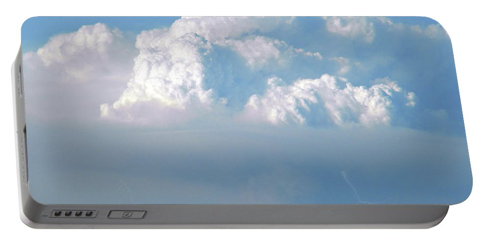 Cloud Portable Battery Charger featuring the photograph Pyrocumulus Cloud by Frank Wilson