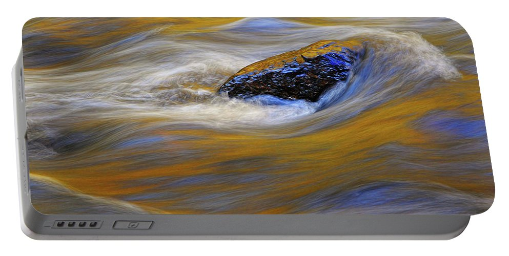 Water Portable Battery Charger featuring the photograph Reflected Color by Dave Mills