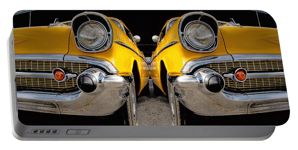 Car Portable Battery Charger featuring the photograph Reflecting 57 by Betsy Knapp