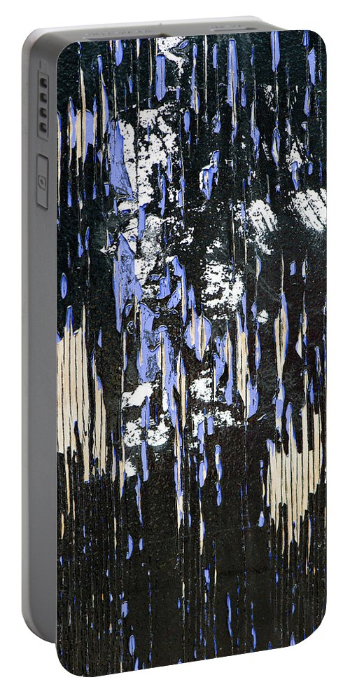 Abstract Portable Battery Charger featuring the photograph Residual Feeling by Gary Eason