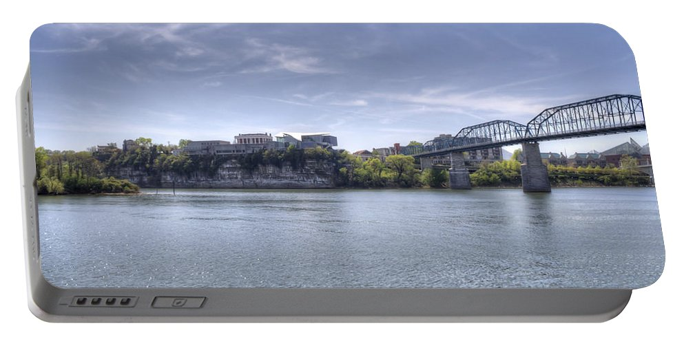 Chattanooga Portable Battery Charger featuring the photograph River Bluff by David Troxel