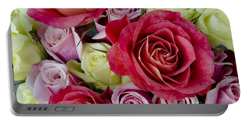 Rose Portable Battery Charger featuring the photograph Roses Roses by Jim And Emily Bush