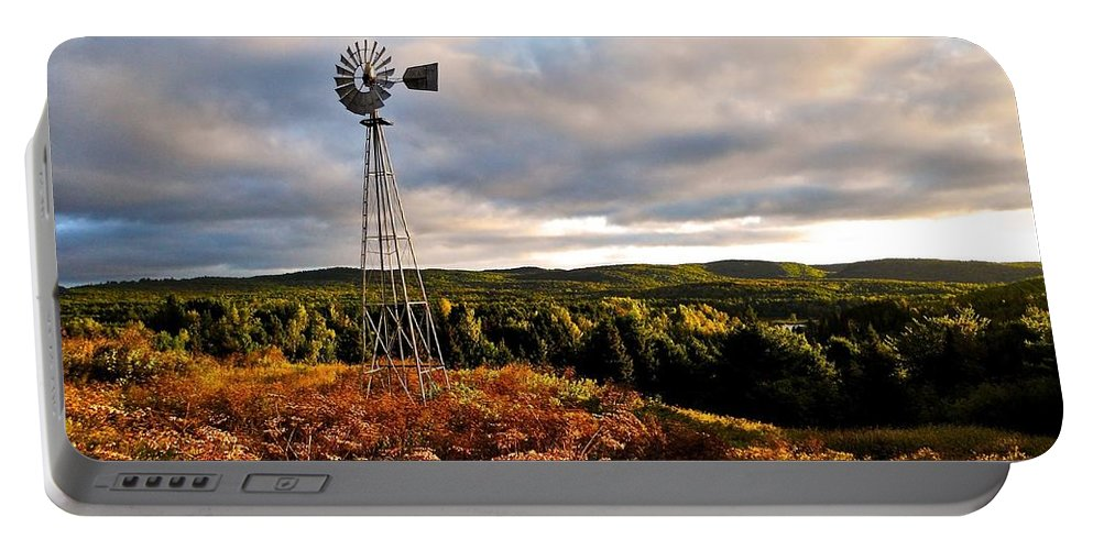 North Marica Portable Battery Charger featuring the photograph Route 125 by Juergen Weiss