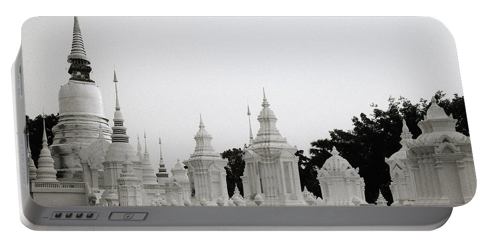 Asia Portable Battery Charger featuring the photograph Royal Cemetery by Shaun Higson