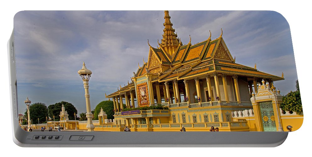 Asia Portable Battery Charger featuring the photograph Royal Palace by David Freuthal