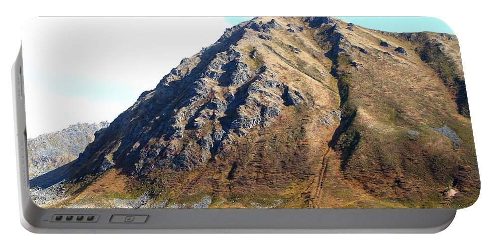 Doug Lloyd Portable Battery Charger featuring the photograph Rugged Mountain by Doug Lloyd