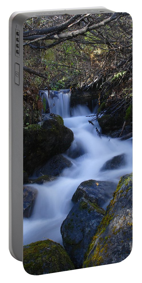 Doug Lloyd Portable Battery Charger featuring the photograph Rushing by Doug Lloyd