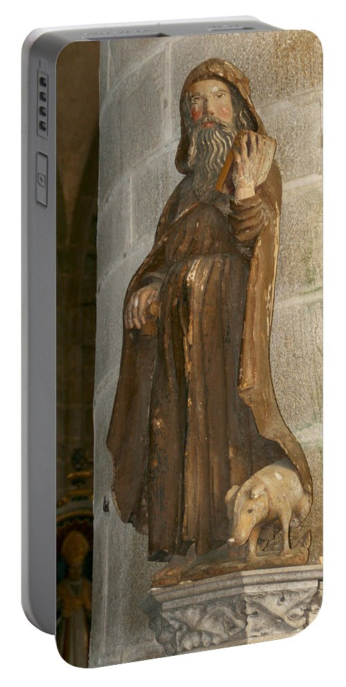Saint Portable Battery Charger featuring the photograph Saint Anthony by Diana Haronis