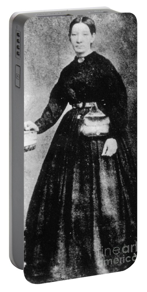 19th Century Portable Battery Charger featuring the photograph Sally Tompkins (1833-1916) by Granger