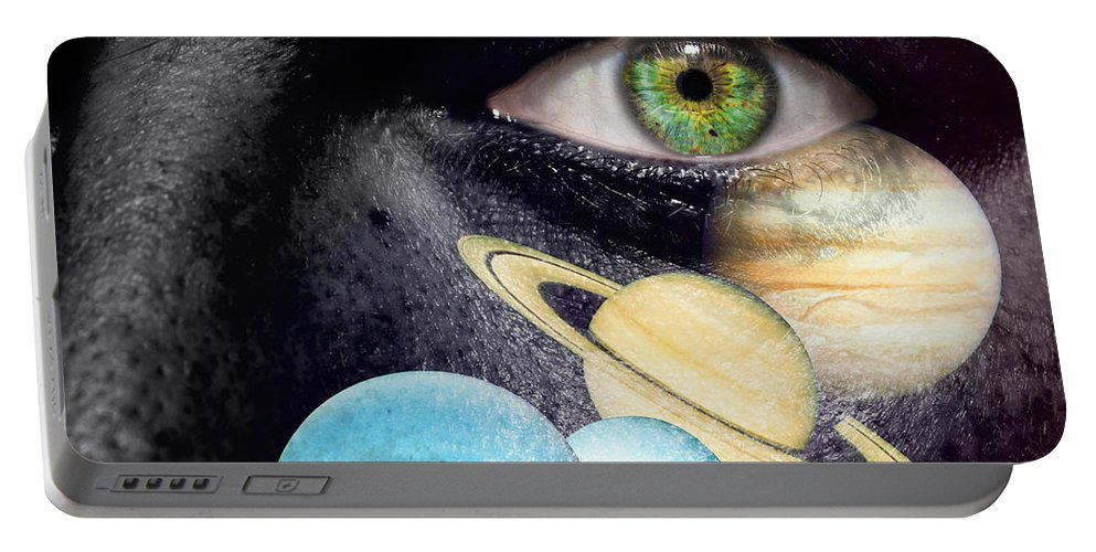 Art Portable Battery Charger featuring the photograph Same Universe by Semmick Photo